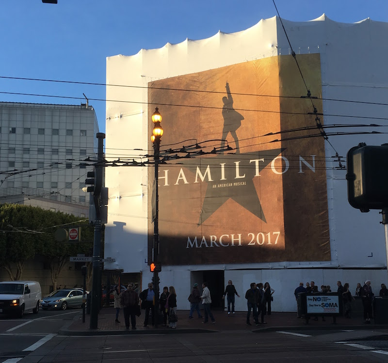 Hamilton poster, SF