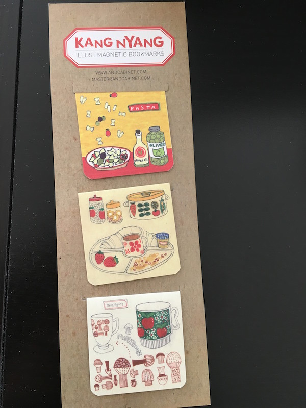 Magnetic Korean bookmarks