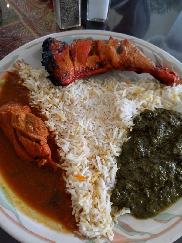Tandoori Curry lunch special @ Punjab Kebob, SF