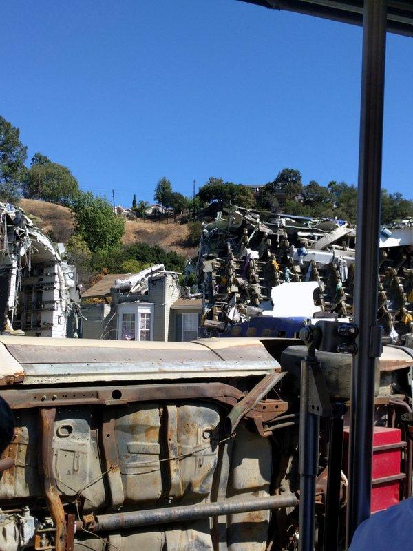 War of the Worlds set, Universal Studios
