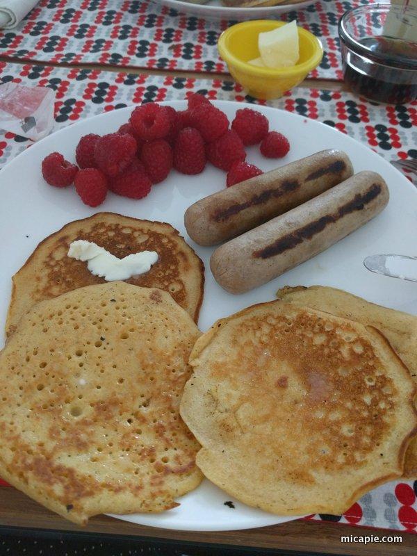 johnnycakes for breakfast