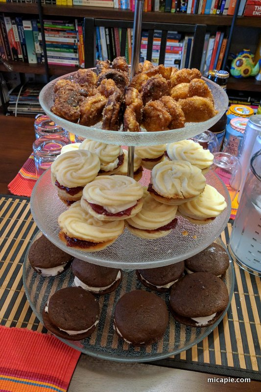 popovers, Viennese whirls, whoopie pies