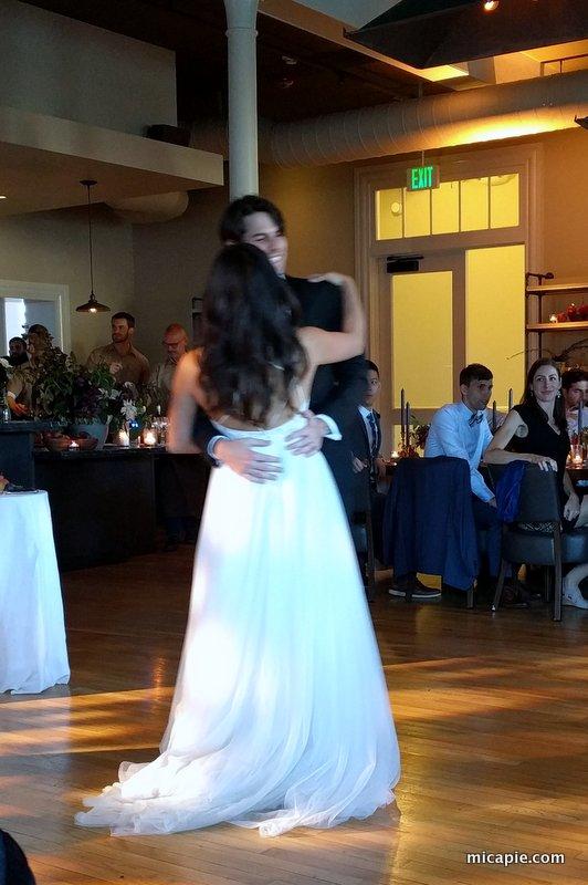 Tina & Ben, first dance