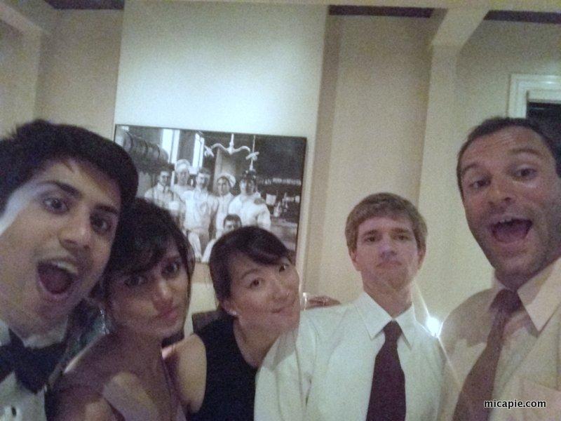 group photo, Tina & Ben's wedding