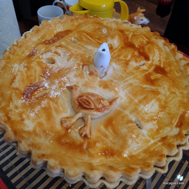 Natalie's chicken pie