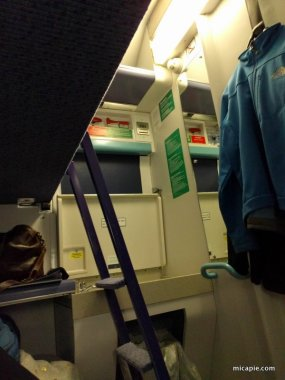 Caledonian Sleeper standard room