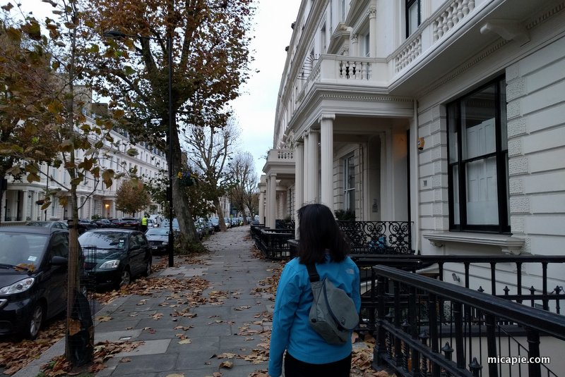 Walking in Maida Vale